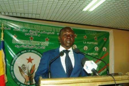 Le président de l'Union des Démocrates pour le Développement et le Progrès (UDP), Max Kemkoye. © DR