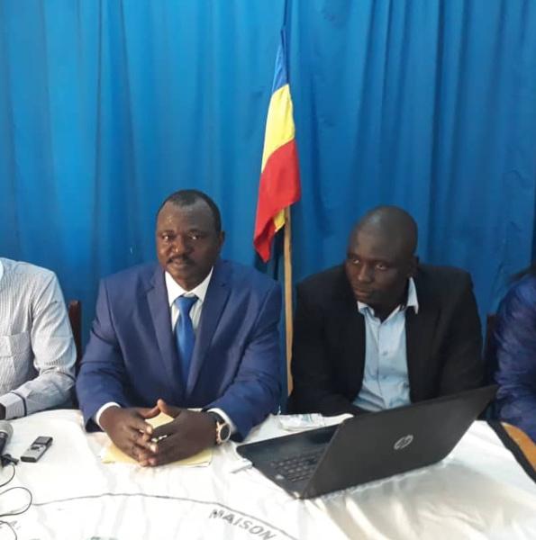 Le leader de l'UPR, François Djékombé. © Alwihda Info