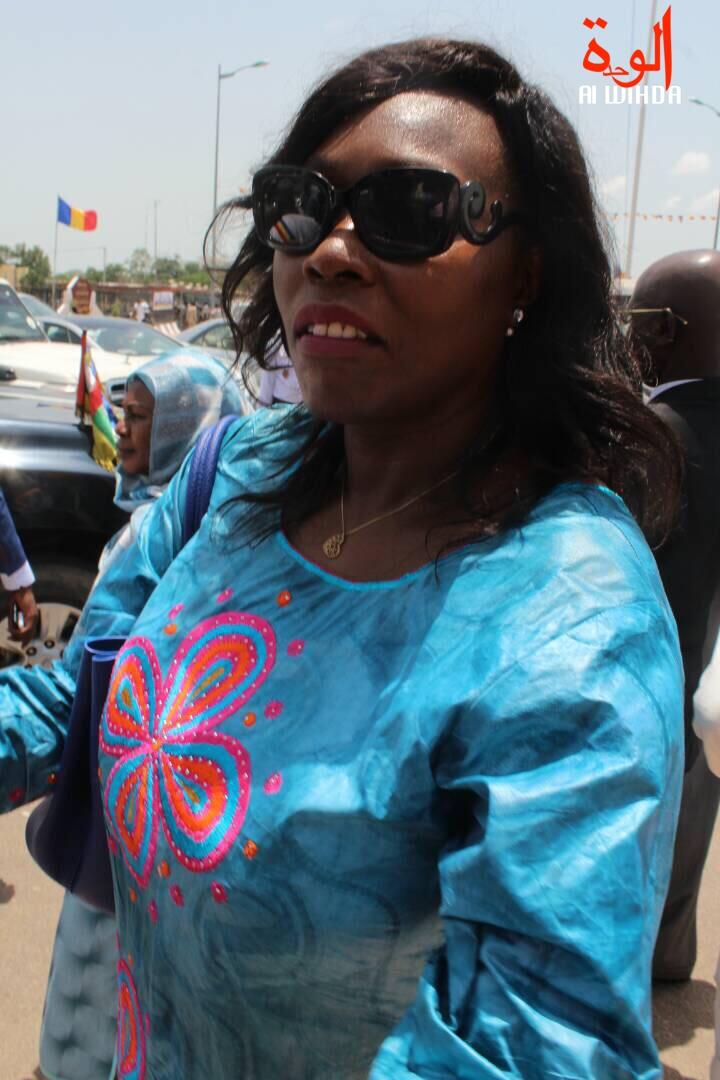La ministre de la Culture, Mme. Madeleine Alingué. © Alwihda Info