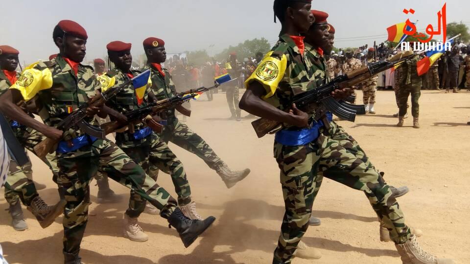 Des militaires lors d'un défilé. © Alwihda Info