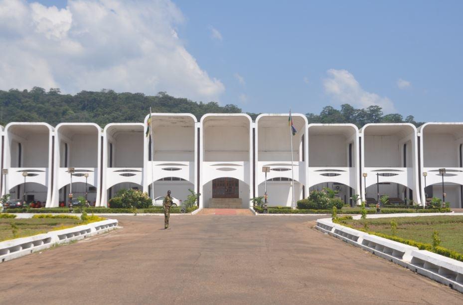Présidence de la République centrafricaine. © PRC