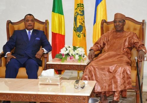 CEMAC : Arrivée du Président Sassou Nguesso. © PR