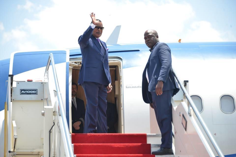 Départ de Denis Sassou N'Guesso pour le Sénégal.