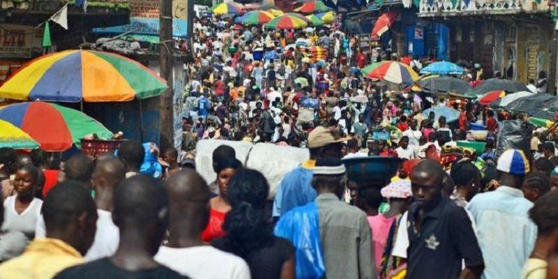 Des habitants en Côte d'Ivoire. © DR