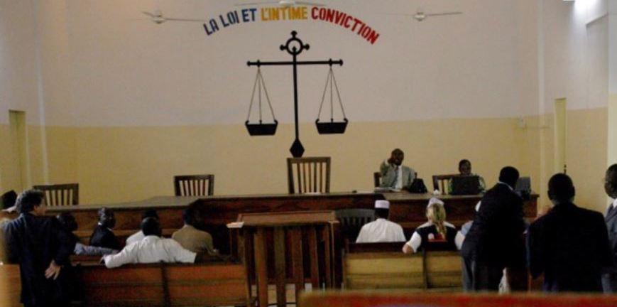 Une salle d'audience de la Cour de justice de N'Djamena, au Tchad, le 8 novembre 2007. © AFP