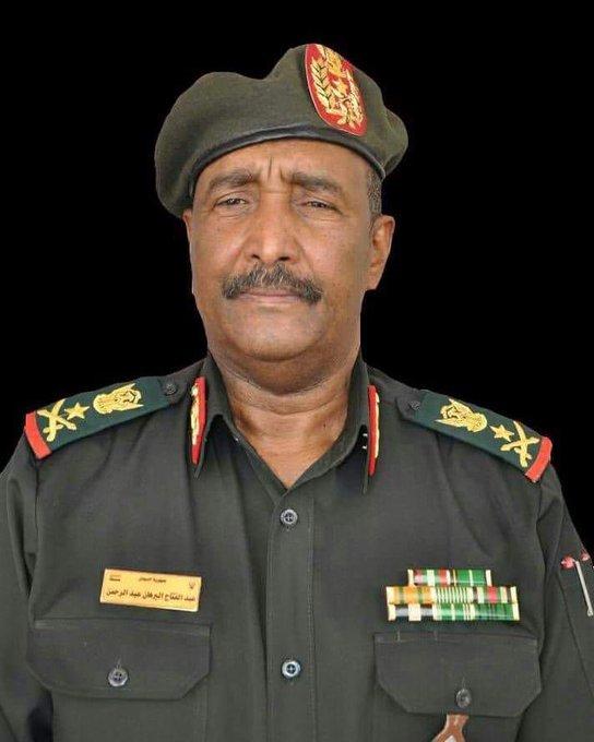 Le général soudanais Abdel Fattah Abdelrahman Bourhan. © DR