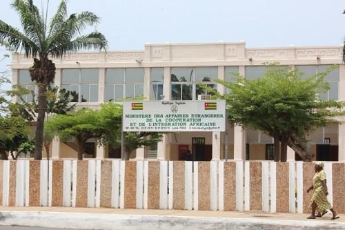 Le ministère togolais des Affaires étrangères. © République Togolaise