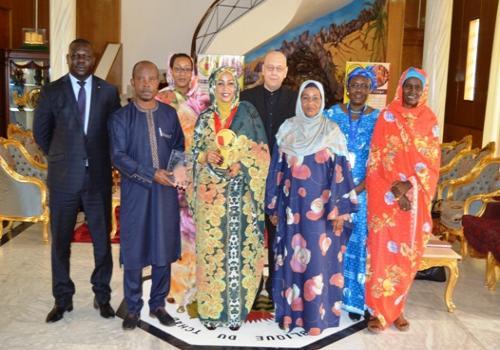 Tchad : Afrique média désigne Hinda Déby pour le prix du mérite panafricain. ©PR