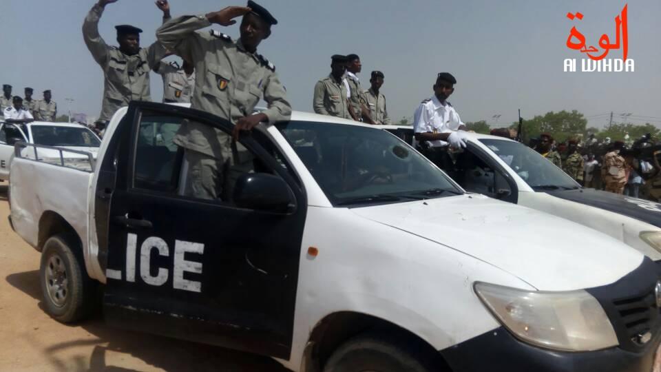 Un véhicule de police au Tchad. ©Alwihda Info
