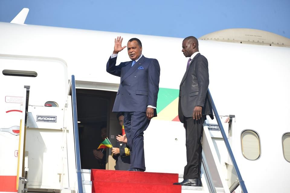 Départ de Denis Sassou N'Guesso pour Le Caire.