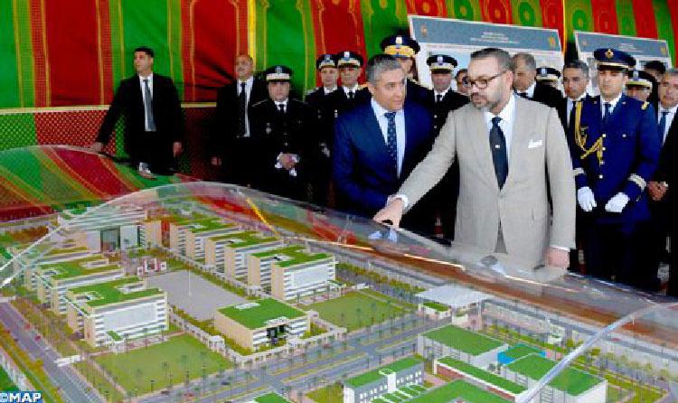 Reconnaissance du Roi du Maroc aux efforts constants et aux sacrifices élevés de la DGSN. © DR
