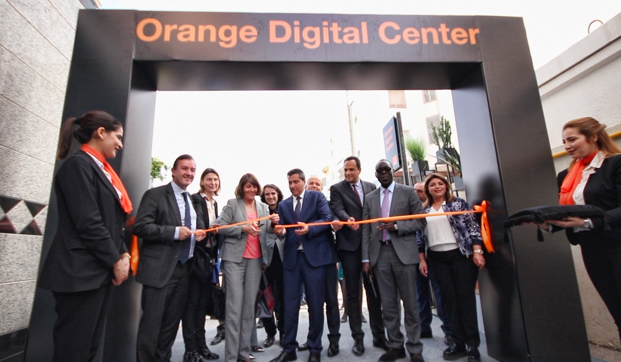Orange inaugure son premier « Orange Digital Center » en Tunisie. © DR