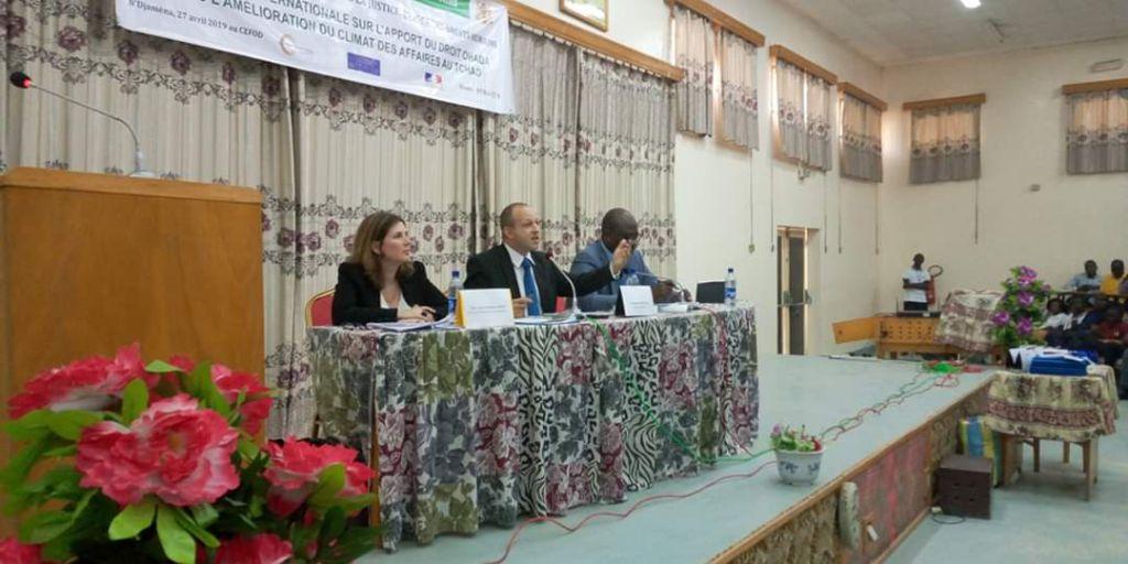 Tchad : Conférence sur l'apport du droit OHADA dans la sécurisation des investissements
