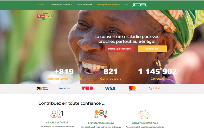 L'Agence de la Couverture Maladie Universelle du Sénégal lance une nouvelle plateforme numérique