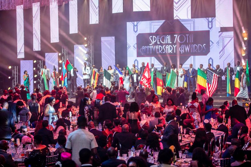 Vue d'ensemble de la soirée spéciale 'UBA CEO Awards' marquant le 70e  anniversaire de la Banque à Lagos le 27 avril.