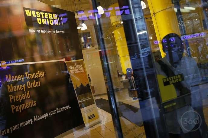 Un guichet de Western Union. © DR