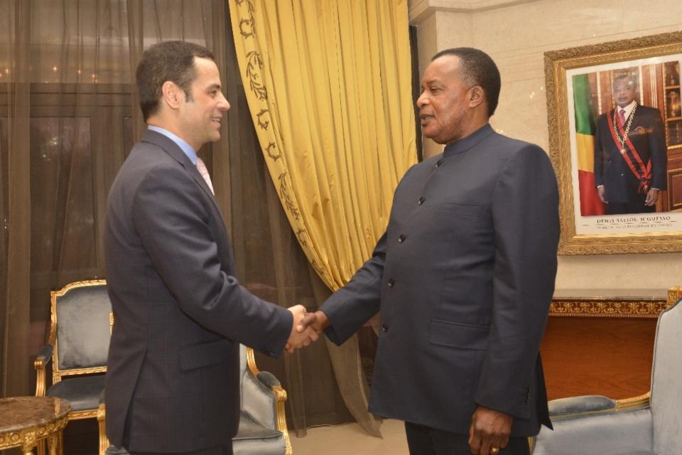 Denis Sassou N'Guesso et Alex Segura Ubiergo.