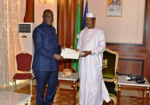 Afrique : Le Ghana sollicite le soutien du Tchad pour le secrétariat général de la ZLEC. © PR