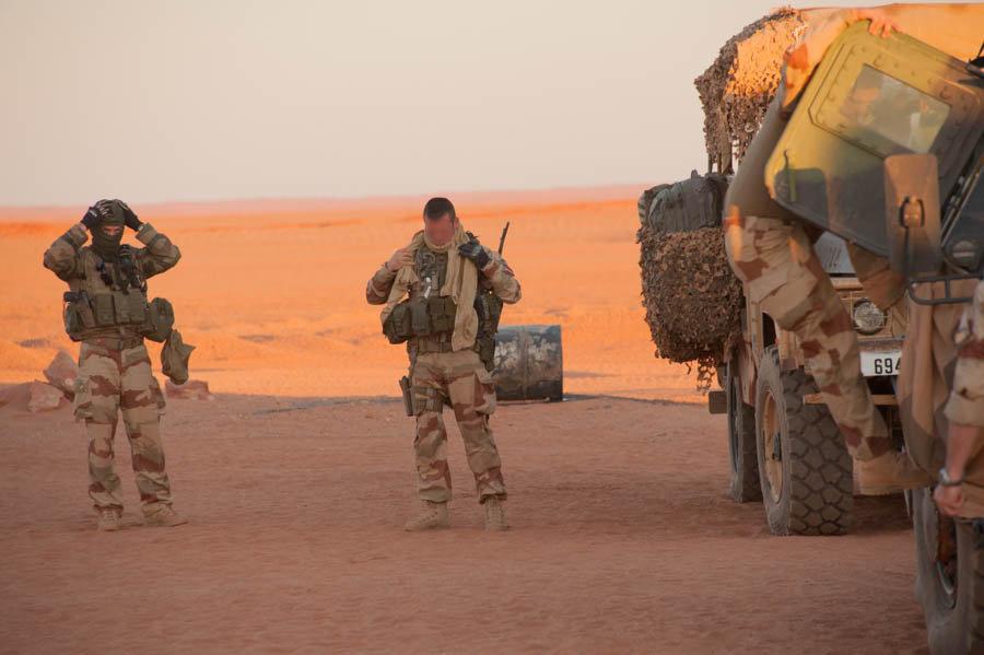 Des militaires français au Sahel. © DR