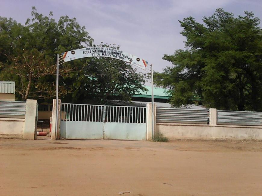 L'Ecole Nationale d'Administration à N'Djamena. © Alwihda Info