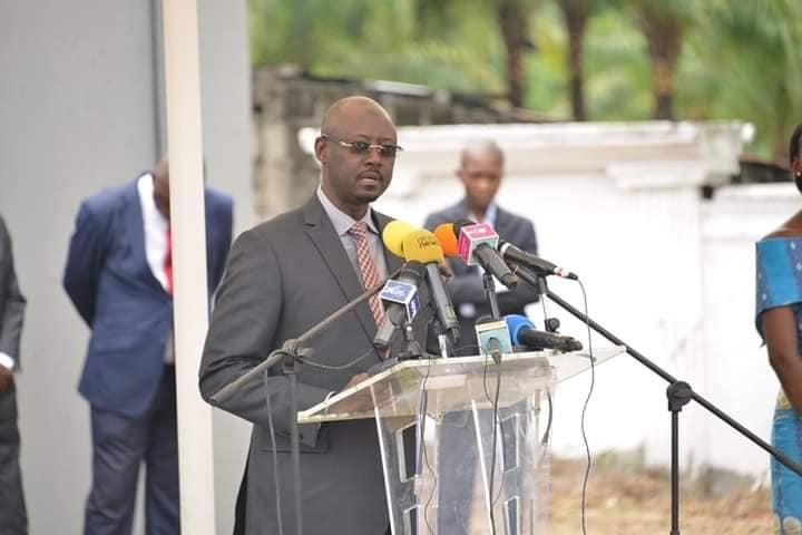 Le Gouverneur de la BEAC, Abbas Mahamat Tolli.