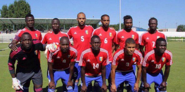 La sélection des Sao du Tchad en 2015. © DR / Page Facebook des Sao du Tchad