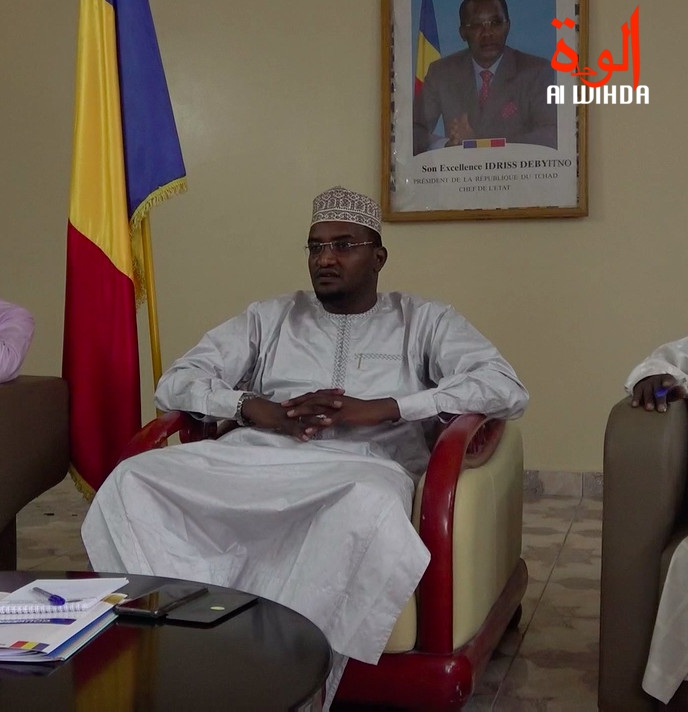 Le ministre de l'Administration du territoire, de la Sécurité publique et de la Gouvernance locale, Mahamat Abali Salah. © Alwihda Info