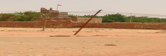 Tata de fort de Fada dans sa décadence en 2018.