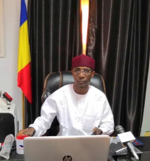 Le président de la commission permanente chargée de l'organisation du pèlerinage, Idriss Dokony Adiker. © DR