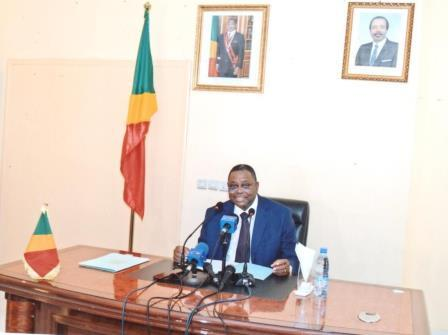 Valentin Ollessongo, ambassadeur du Congo Brazzaville au Cameroun.