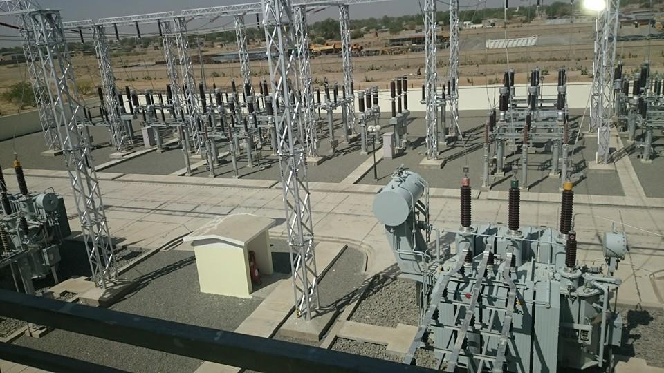 Une centrale électrique à Djermaya, au Tchad. © DR