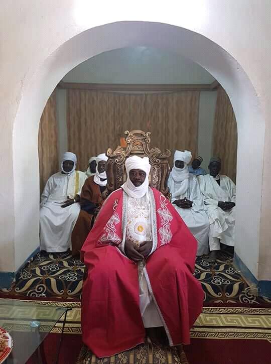 Le sultan du Dar Ouaddaï, Mahamat Ourada.