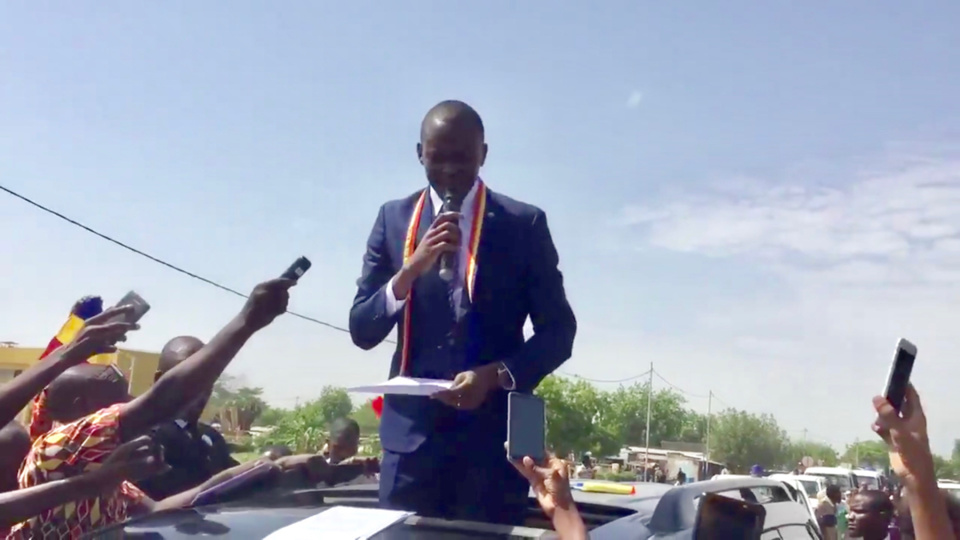 "Tchad : ""c'est une situation anormale mais qui ne va plus durer"", Succès Masra"