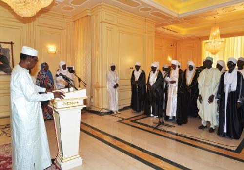 """Tchad : """"de fortes complicités locales"""" avec les terroristes au Lac, estime le président. © DR/Pr"""