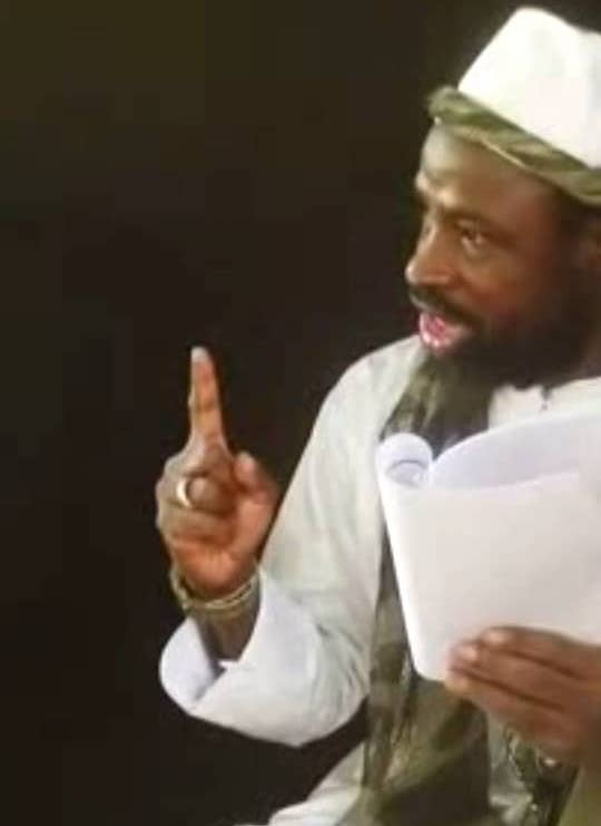 Le chef de Boko Haram Shekau menace le Tchad et les pays voisins. © Capture d'écran
