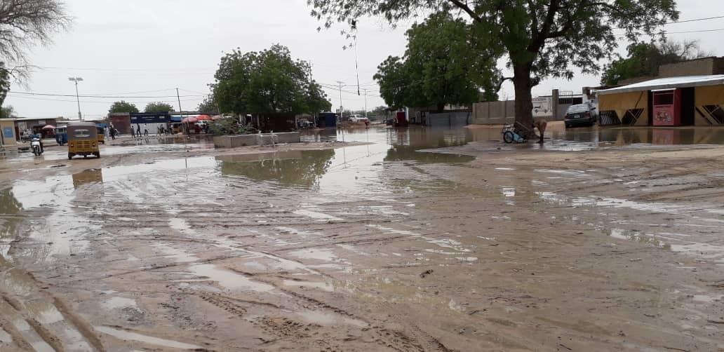 Tchad : à Abéché, les inondations s'installent dans les quartiers