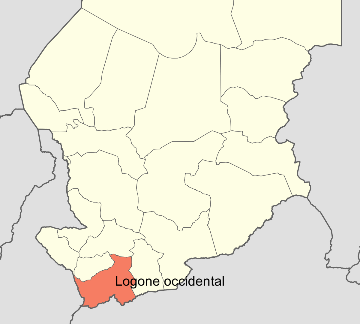 Province du Logone Occidental.