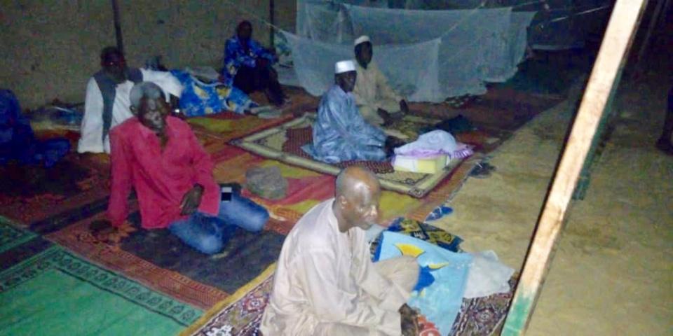 Des victimes d'Hissein Habré à N'Djamena. ©Alwihda Info