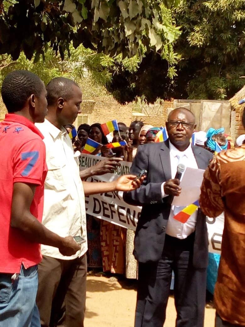 Le président du RAPCLO, Moussa Alkali Moussa. © Alwihda Info