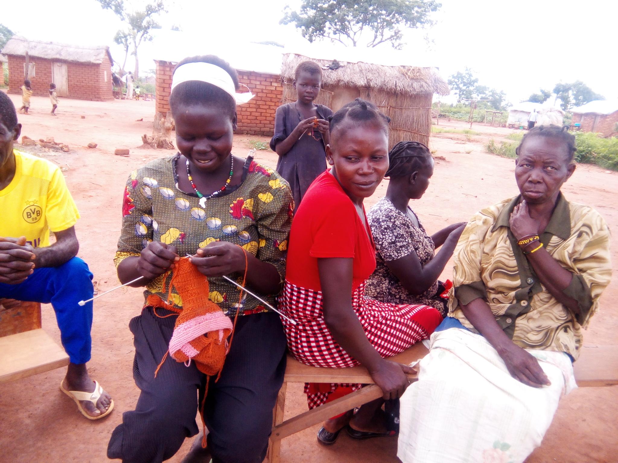 Centrafrique: difficile quotidien des réfugiés sud-soudanais qui sont à Obo. © A-J.M