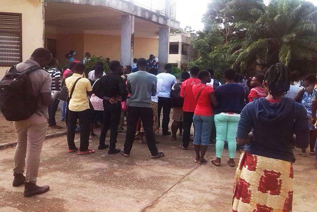 Des candidats au baccalauréat le 2 février 2019 à Lomé. © Lavoixdelanation