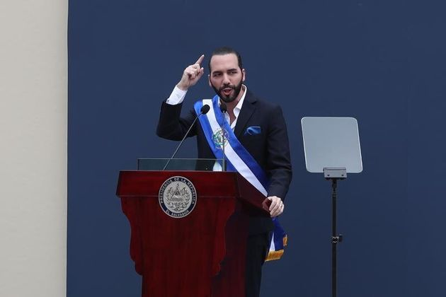 Le président salvadorien, Nayib Bukele. © DR
