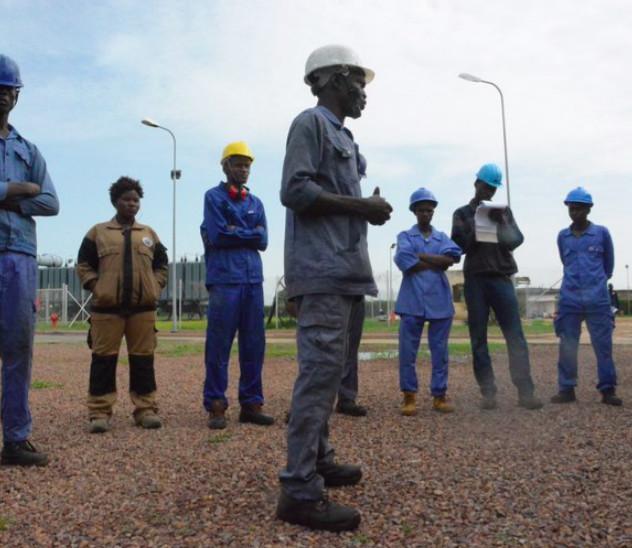 Des agents de la SNE au Tchad. © SNE