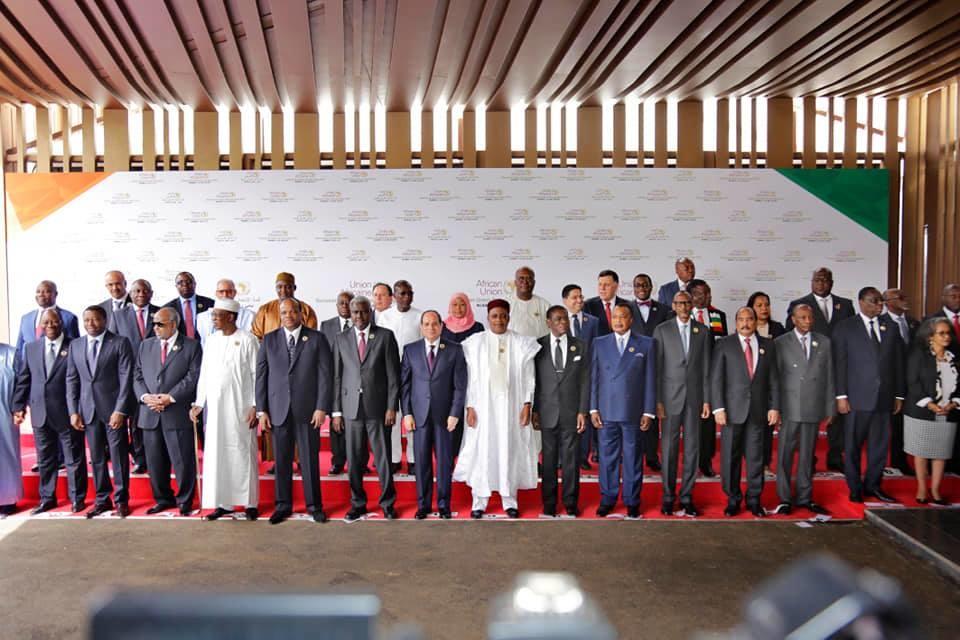 Les chefs d'Etat et de gouvernement présents à Niamey.