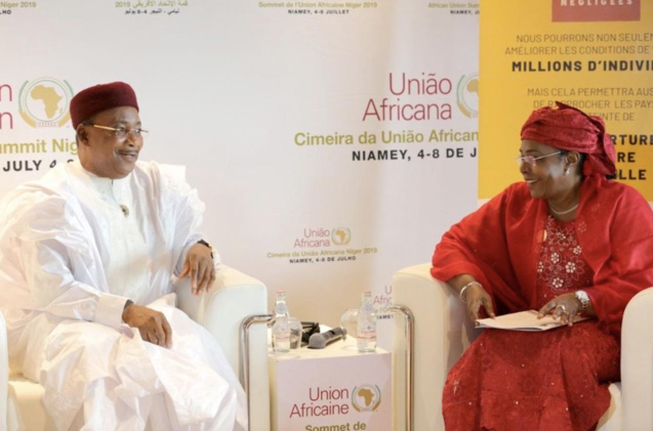 Son Excellence M. Mahamadou Issoufou, Président de la République du Niger.
