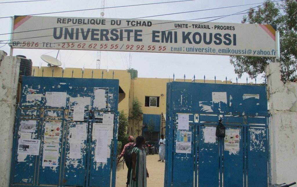 Illustration. Un portail de l'Université Emi Koussi au Tchad. © DR/UEK