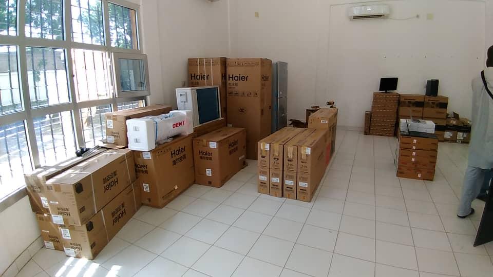 Tchad : la Chine appuie le processus électoral avec un don à la CENI. © Alwihda Info