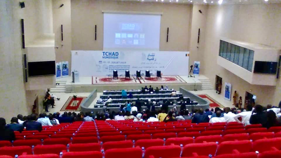 Ouverture jeudi 11 juillet au Radisson Blu du Forum Tchad Numérique. N'Djamena. © Alwihda Info
