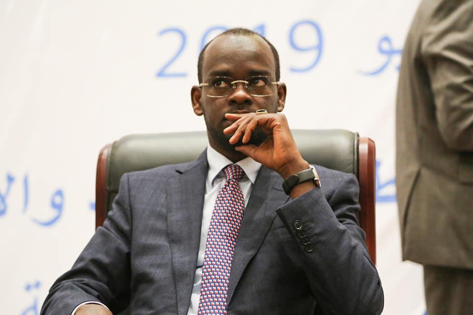 Le ministre des Postes, des Nouvelles technologies de l'information et de la communication, Dr. Idriss Saleh Bachar. © TN