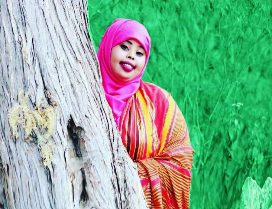 Kaltun Nasir Hussein remporte le prix BBC de la jeune poète somalienne. © DR/BBC